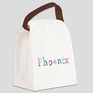 Phoenix Princess Balloons Canvas Lunch Bag