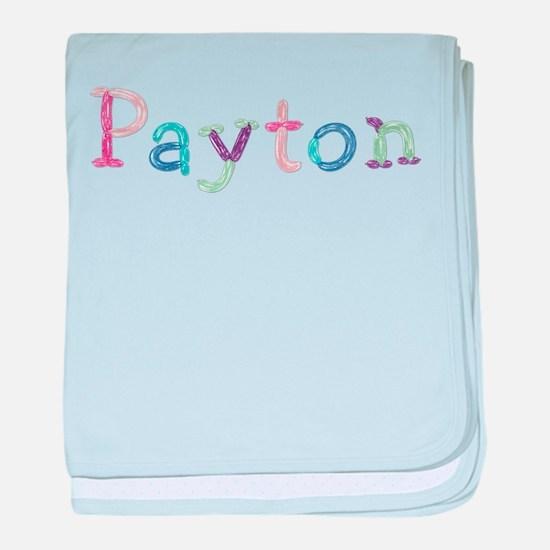 Payton Princess Balloons baby blanket