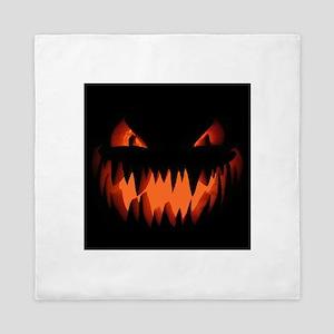 Halloween Jack-o-lantern / Pumpkin Queen Duvet