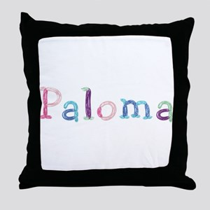 Paloma Princess Balloons Throw Pillow