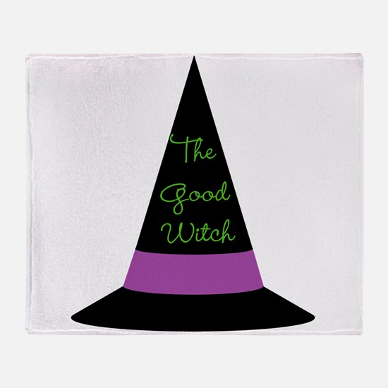 Th Good Witch Throw Blanket