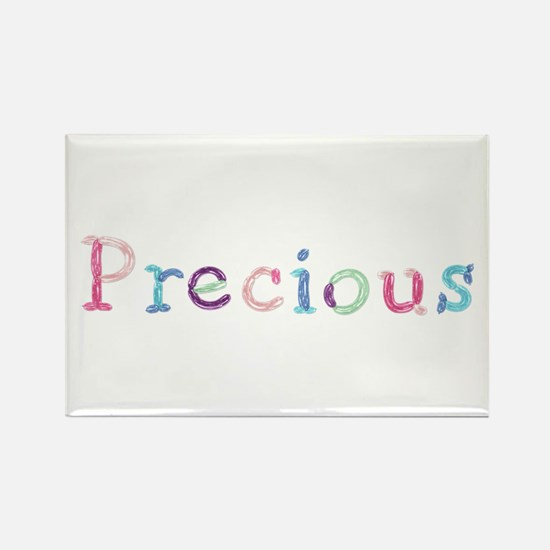 Precious Princess Balloons Rectangle Magnet