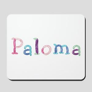 Paloma Princess Balloons Mousepad