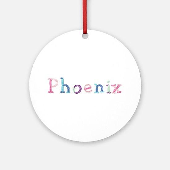 Phoenix Princess Balloons Round Ornament