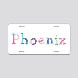 Phoenix Princess Balloons Aluminum License Plate