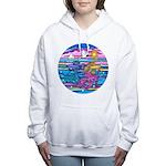 Siamese Betta Fish Women's Hooded Sweatshirt