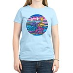 Siamese Betta Fish Women's Light T-Shirt