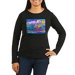 Siamese Betta Fis Women's Long Sleeve Dark T-Shirt