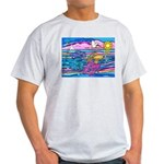 Siamese Betta Fish Light T-Shirt
