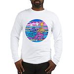 Siamese Betta Fish Long Sleeve T-Shirt