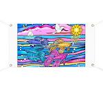 Siamese Betta Fish Banner