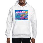 Siamese Betta Fish Hooded Sweatshirt