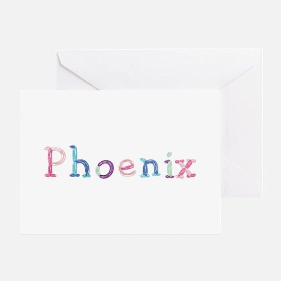 Phoenix Princess Balloons Greeting Card