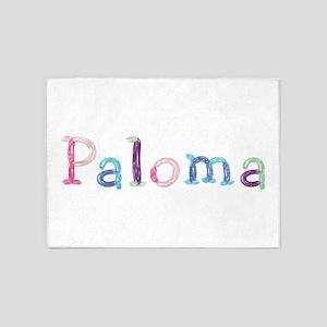 Paloma Princess Balloons 5'x7' Area Rug