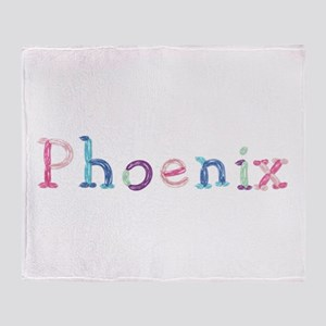 Phoenix Princess Balloons Throw Blanket