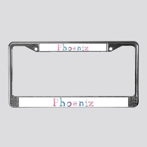 Phoenix Princess Balloons License Plate Frame