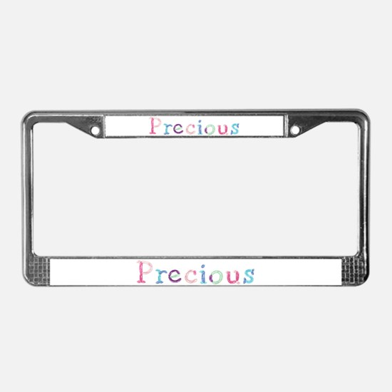Precious Princess Balloons License Plate Frame