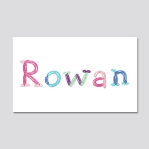 Rowan Princess Balloons 20x12 Wall Peel