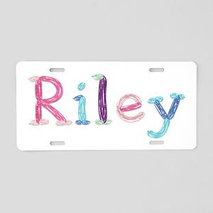 Riley Princess Balloons Aluminum License Plate