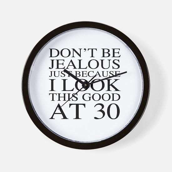 30th Birthday Jealous Wall Clock
