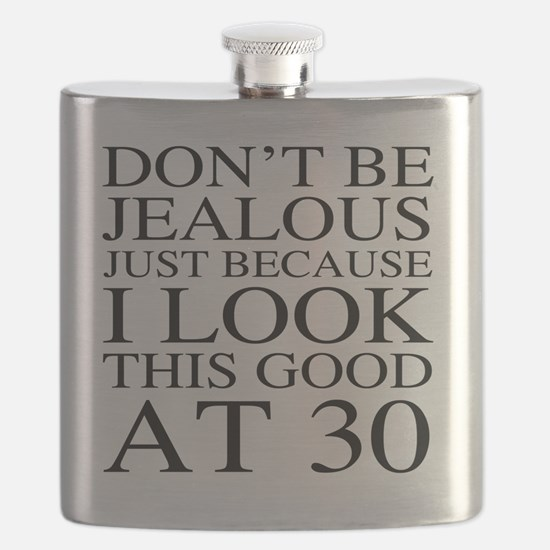 30th Birthday Jealous Flask