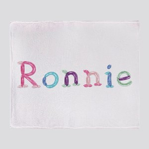 Ronnie Princess Balloons Throw Blanket