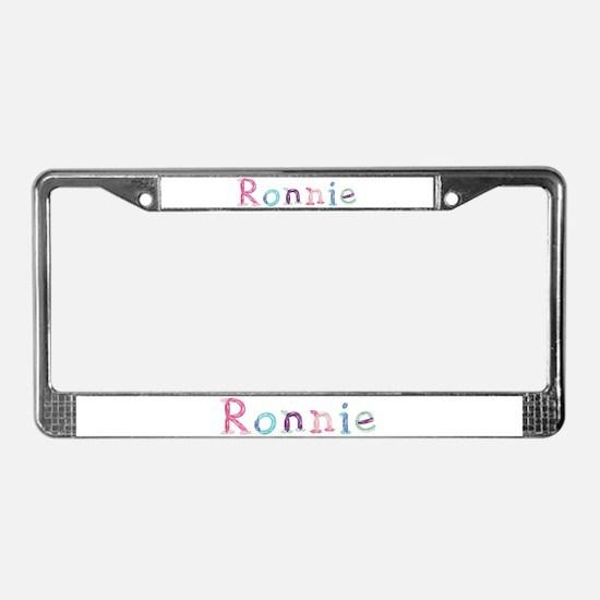 Ronnie Princess Balloons License Plate Frame