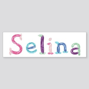 Selina Princess Balloons Bumper Sticker