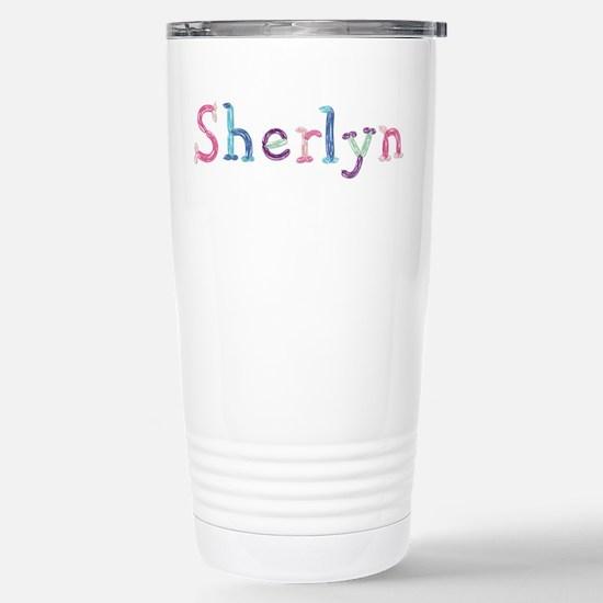Sherlyn Princess Balloons Ceramic Travel Mug