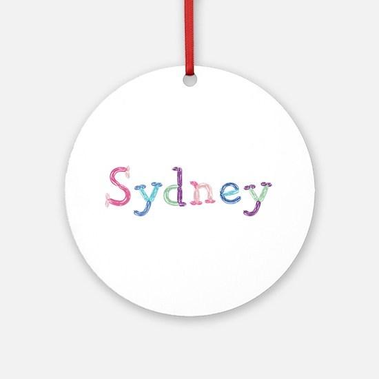 Sydney Princess Balloons Round Ornament