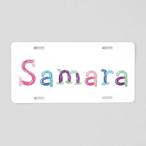 Samara Princess Balloons Aluminum License Plate