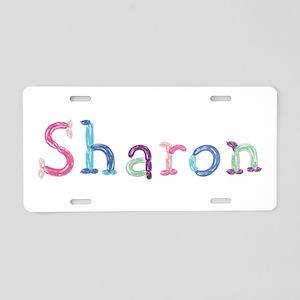 Sharon Princess Balloons Aluminum License Plate