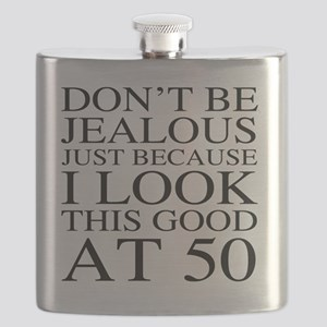 50th Birthday Jealous Flask
