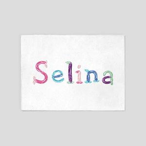 Selina Princess Balloons 5'x7' Area Rug