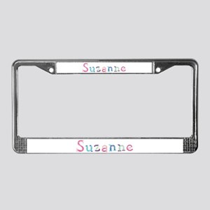 Suzanne Princess Balloons License Plate Frame