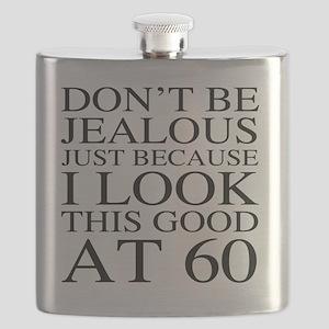 60th Birthday Jealous Flask