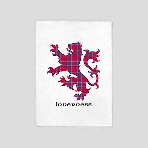 Lion - Inverness dist. 5'x7'Area Rug