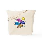 Siamese Betta Fish #2 Tote Bag