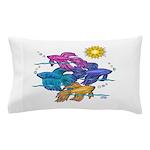 Siamese Betta Fish #2 Pillow Case