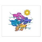 Siamese Betta Fish #2 Small Poster