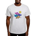 Siamese Betta Fish #2 Light T-Shirt