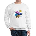 Siamese Betta Fish #2 Sweatshirt