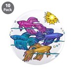 Siamese Betta Fish #2 3.5