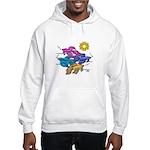 Siamese Betta Fish #2 Hooded Sweatshirt