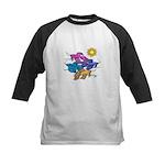Siamese Betta Fish #2 Kids Baseball Jersey