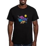 Siamese Betta Fish #2 Men's Fitted T-Shirt (dark)