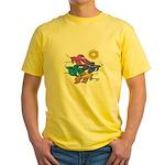 Siamese Betta Fish #2 Yellow T-Shirt