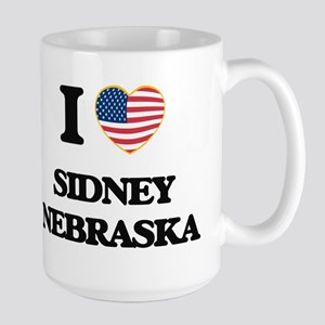 I love Sidney Nebraska Mugs