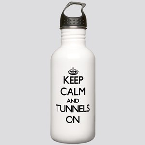 Keep Calm and Tunnels Stainless Water Bottle 1.0L
