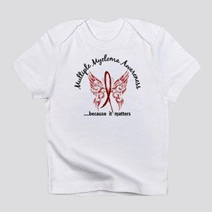 Multiple Myeloma Butterfly 6.1 Infant T-Shirt